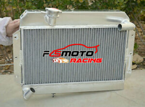 5row Alu Radiator For Rover Mg A Mga 1500 1600 1622 Cc Twin Cam Deluxe 1955 1962