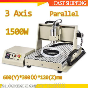 Diy 3 Axis 1 5kw Cnc Router 6040 Engraving Milling Machine Engraver Router Kit