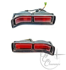 1972 1973 Lincoln Mark Iv Tail Light Assembly Pair d2ly13404a d2ly13405a