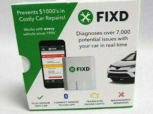 Fixd Obd ii Active Car Health Monitor Engine Code Reader Diagnostic Scanner Tool