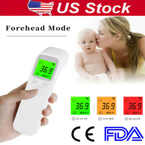 Infrared Thermometer Fda Temperature Gun Meters Digital Ir Body Temp Tester