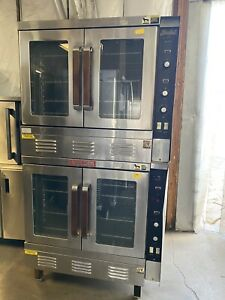 Double Stack Convection Oven Vulcan Sg1010b