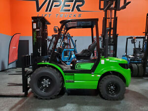 2020 Viper Rtd35 8000lb Air Pneumatic Rough Terrain Forklift Diesel Lift Truck