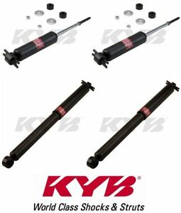 Kyb Set Of 4 Shocks Front Rear Fits Gmc S Series Pickup Sonoma 2wd 1995 04