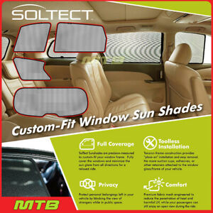 Custom fit Maxpider S1in0110 For Qx60 jx Soltect Sunshade Side And Rear Windows