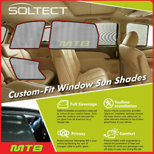 Custom fit Maxpider S1in0111 For Qx60 14 20 jx 2013 Soltect Sunshade Side Window