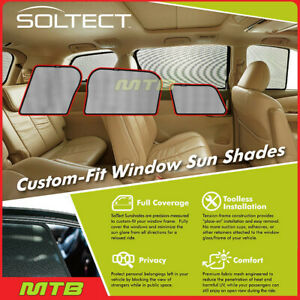 Custom fit Maxpider S1mn0181 For Countryman 17 20 Soltect Sunshade Side Windows