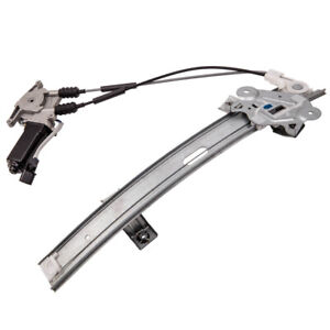 Universal Electric Power Window Lift Regulator Conversion Kit Fit 2 Door Vehicle