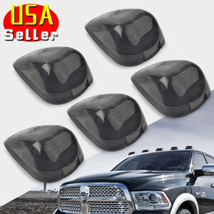 Yitamotor 5pcs Roof Running Light Cab Marker Smoke Covers For Ford F 250 F 350