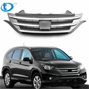 Front Hood Bumper Abs Grille Grill For Honda Crv Cr v 2012 2013 2014 Us