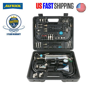 Non Dismantle Fuel Injector Cleaner Tester Diesel Petrol Fuel System Autool C100