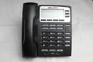 Lot Of 5 Allworx 9204g Voip 4 Button Display Business Office Phones