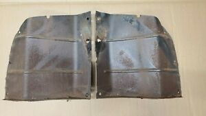 1941 1946 Gmc Chevy Pickup Truck Grille Radiator Side Splash Pans Air Baffle