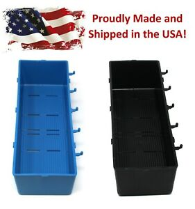 Heavy Duty Plastic Pegboard Storage Bins Garage Work Shop Organizer Pick A Color