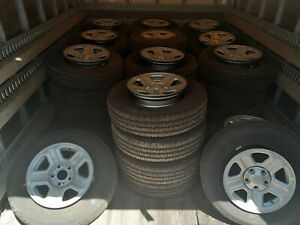 From Dealer To Lot Take Off Goodyear 225 75r16 Tires