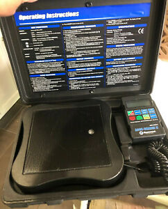 Mastercool Accu Charge Programmable A C Ac Air Conditioner Refrigerant Scale