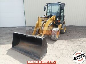 2016 Caterpillar 903c2 Wheel Loader Cab Heat ac Aux Hyd 4x4 115 Hours 42 Hp