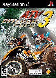 ATV Offroad Fury 3 (Sony PlayStation 2  2004) - Disc Only