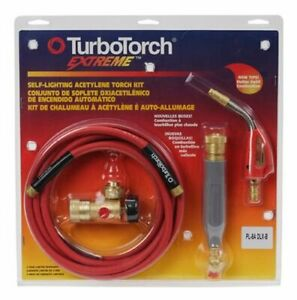 Customer Returned Turbotorch Pl 8a Torch Kit For B Tank Air Acetylene 0386 0835
