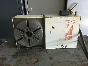 Haas 4th Axis Cnc Rotary Table 8 Indexer 17 Pin Hrt 8