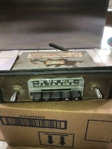 Audiovox Am Fm Vintage Car Dash Radio Model C 505b Made In Japan