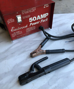 Eastwood 50 Amp Power Pack Welder Tested Working Rare
