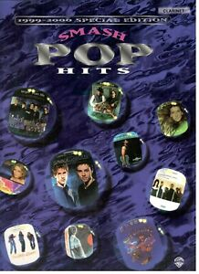 SMASH POP HITS 1999-2006 SPECIAL EDITION MUSIC BOOK FOR CLARINET RARE BRAND NEW