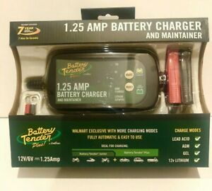 Deltran Battery Tender Plus 1 25 Amp Battery Charger 022 0200 Dl Wh New