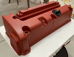 Honda K20 K24 Rsx Civic Accord Type R Valve Cover Powder Coated Wrinkle Red