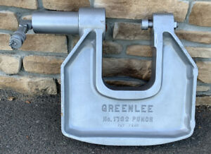 Greenlee 1732 C frame Hydraulic Knockout Punch Driver 5