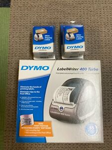 Dymo 400 Turbo 69110pc Connected Label Printer W 2 Shipping Label Packs
