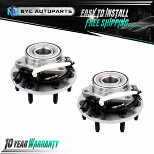 2x Front Wheel Hub Bearing 7 Lug For 2001 2002 2003 Ford F 150 04 F 150 Heritage
