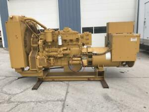 _350 Kw Cat Generator Set Year 2000 12 Lead Reconnectable 194 Hours