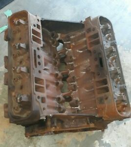 1970 Buick 455 Engine Block Crank And Heads Sf 1231738