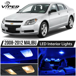 2008 2012 Chevy Malibu Blue Led Interior Lights Package Kit