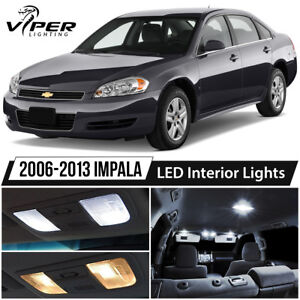 2006 2013 Chevy Impala White Led Interior Lights Package Kit