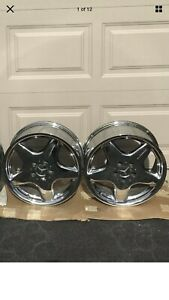 17 Mercedes W209 R170 Clk Slk Amg Chrome Wheel Rim 7 5x17 Et37 5x112 1704010102