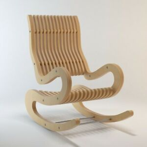 Rocking Chair Dxf Cdr Laser Cutting Files Plan For Cnc