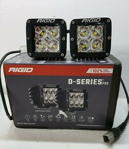 Rigid Industries Dually Led D Series 3 Flood Lights Set Of 2 Pair 202113