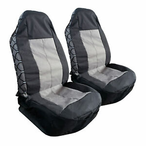 For Toyota Tacoma Trd Seat Covers 2003 2020 Grey Black Camo Canvas Protectors