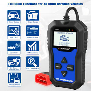 Obd2 Scanner Konnwei Kw350 Full System Diagnostic Tool For Vw Cars Abs At Srs