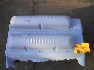 Ford 352 427 Painted Factory Thunderbird Valve Covers Galaxie starliner