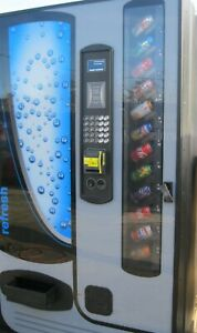 Cb700 Selectivend usi Soda Machine With Credit Card Reader
