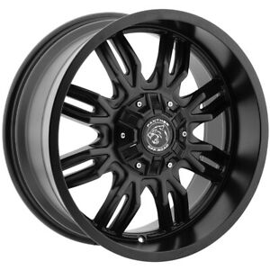 4 New 18 Panther Off Road 580 Wheels 18x9 5x5 5x5 5 0 Black Rims