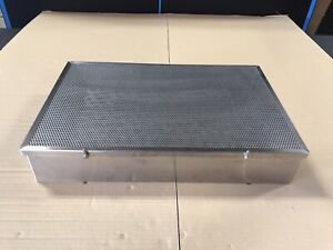 Stainless Steel Sterilization Tray Case Surgical Instrument 20 X 13 X 3 5