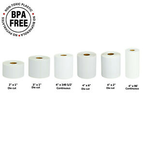 Shipping Barcode Roll Paper Labels For Brother Rj 3050 Rj 3150 Rj 4030 Rj 4040