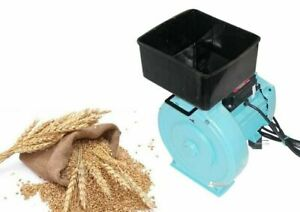 Electric Feed Mill Grinder Corn Grain Oats Wheat Crusher Ikor 2