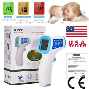 Non contact Infrared Digital Forehead Thermometer For Baby And Adult Temperature