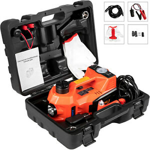 5 Ton Car Jack Lift 12v 5t Electric Hydraulic Floor Jack Led Air Pump Repair Kit