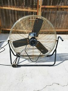Large Commercial High Speed Industrial Fan Can Be Used Outdoors